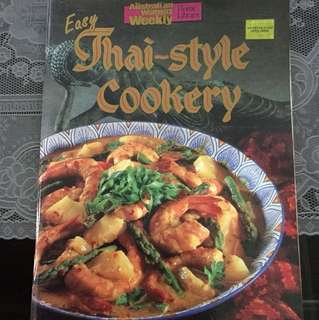 Cookbook Australian Women weekly Easy Thai style cookery