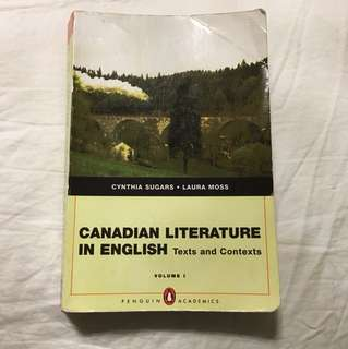 Canadian Literature in English Volume 1