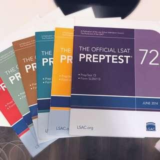 LSAT PrepTests (#72-77)