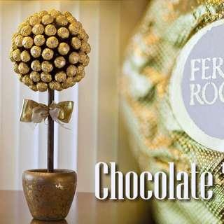 Valentine's Day Ferrero Rocher Chocolate Tree with FREE greeting card