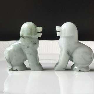 Zodiac Dog Jade Carving