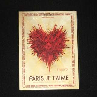 Paris, je t'aime 我愛巴黎 DVD