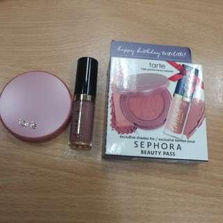 Tarte mini blush & lip gloss set