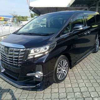 Toyota Alphard 2.5 sc high spec