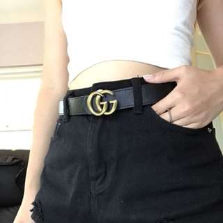 GG inspired belt