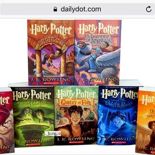 Harry Potter Years 1-7