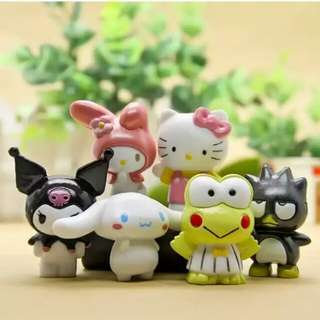PO4 Hello Kitty and Friends Miniatures