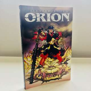 Masamune Shirow's Orion Graphic Novel