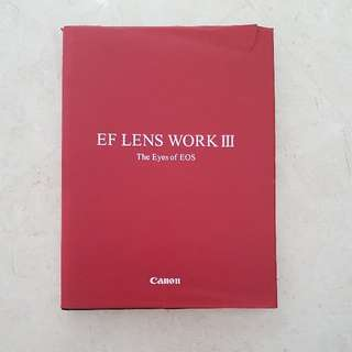 *REDUCED* Canon EF Lens Work III  The Eyes Of EOS