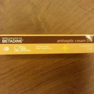 #Blessing BN Betadine Antiseptic Cream 5%