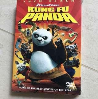kungfu panda dvd