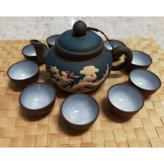 Vintage Chinese Tea Set 紫砂茶壶