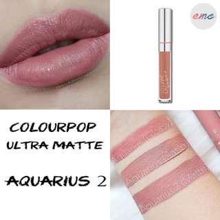 BN Colourpop Ultra Matte Lipstick - Aquarius 2 UML
