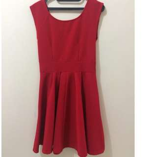 Preloved Mini Dress Merah