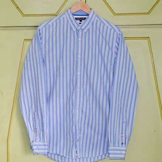 Authentic Tommy Hilfiger New York Fit Button Down Shirt