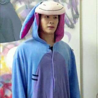 Kigurumi / Onesie / Pyjamas / Cosplay Eeyore For Readystock (Jackson Got7 Inspired Wear)