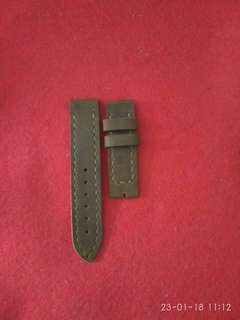 Watch strap genuine leather