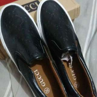 Gucci Black STEP In Shoes