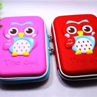 3D The Owl Pencil Case