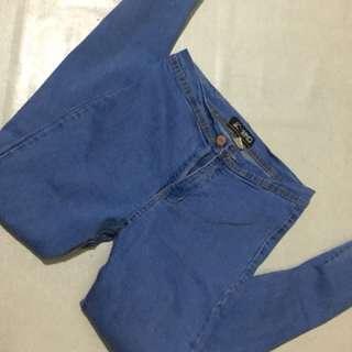 High waist pants