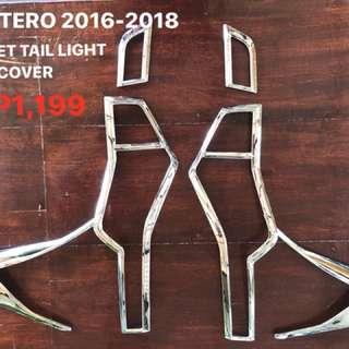 RUSH SALE!! MONTERO SPORT 2016-2018 HEAD LIGHT & TAIL LIGHT COVER (CHROME)