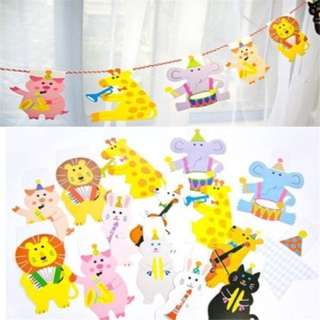15 Cute animals character bunting