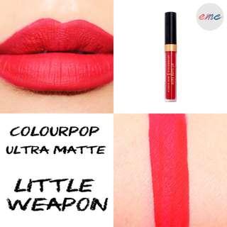 BN Colourpop X Alexis Ren Ultra Matte Lip Lipstick - Little Weapon UML