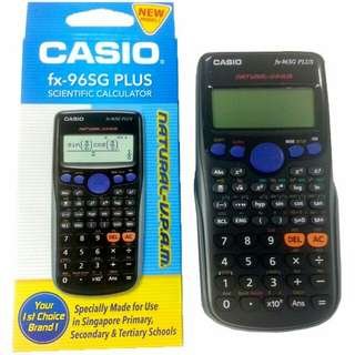 Casio fx 96sg plus calculator
