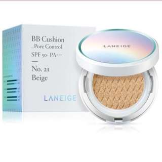 Laneige BB Cushion Pore Control No. 21