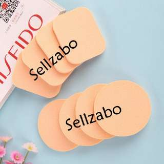 4 Pc Facial Face Cream Liquid Foundation Round Puff Sponge Sellzabo Beauty Cosmetics Makeup Tools