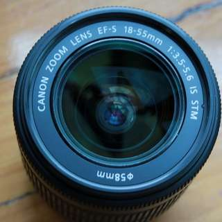 Canon Efs 18-55mm IS STM and Canon Efs 55-250mm IS STM