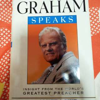 Billy Graham speaks by Janet Lowe