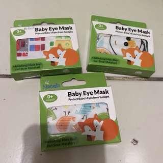 Baby eye mask penutup mata bayi newborn