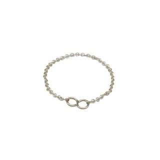 【zz】進口14k包金鍊條戒指無限愛S型女戒簡約關節925純銀