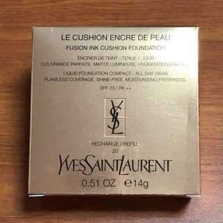YSL Cushion Refill - Le Cushion Encre de Peau (Shade 20)