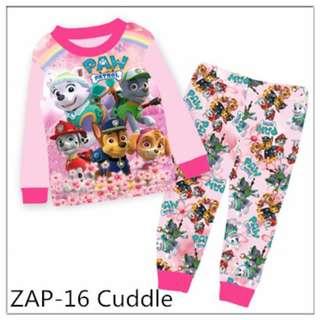 Paw patrol pink pyjamas set