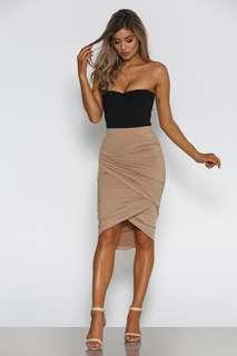 - Nude Skirt