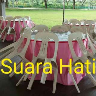 Mini Event Renting Chair Table Skirting & Tentage