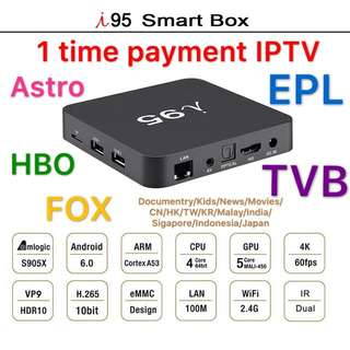 One time payment IPTV PM me for more details Limited time offer