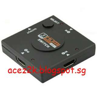 [BN] 3 Port HDMI Switch (Brand New)