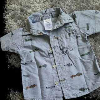 Carter's shirt 9m