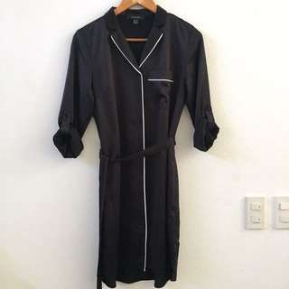 Atmosphere Black Shirt Dress