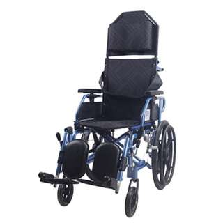Aluminium Light Weight Recliner Wheelchair 18""