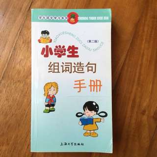 Primary School Chinese Words Dictionary With Sentence Examples