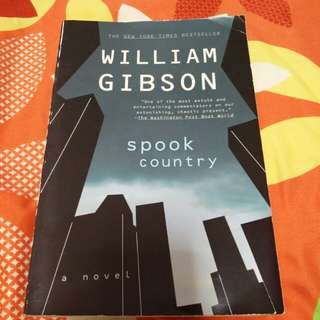 William Gibson Spook Country
