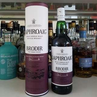 Laphroaig Brodir 48% Port wood finish Islay whisky 泥煤 威士忌