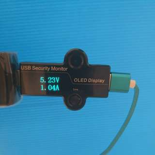 USB Current Amperage drain tester OLED display for testing phone, tablet, drone, powerbank battery capacity and microusb, usb-c, iphone cable quality