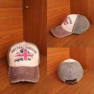 Topi Baseball United Kingdom Hijau