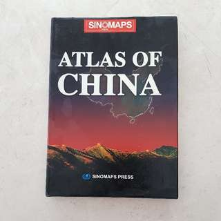 "Atlas Of China 8"" x 12"" SinoMaps"