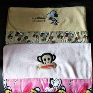 BNIB Paul Frank & Snoopy towels